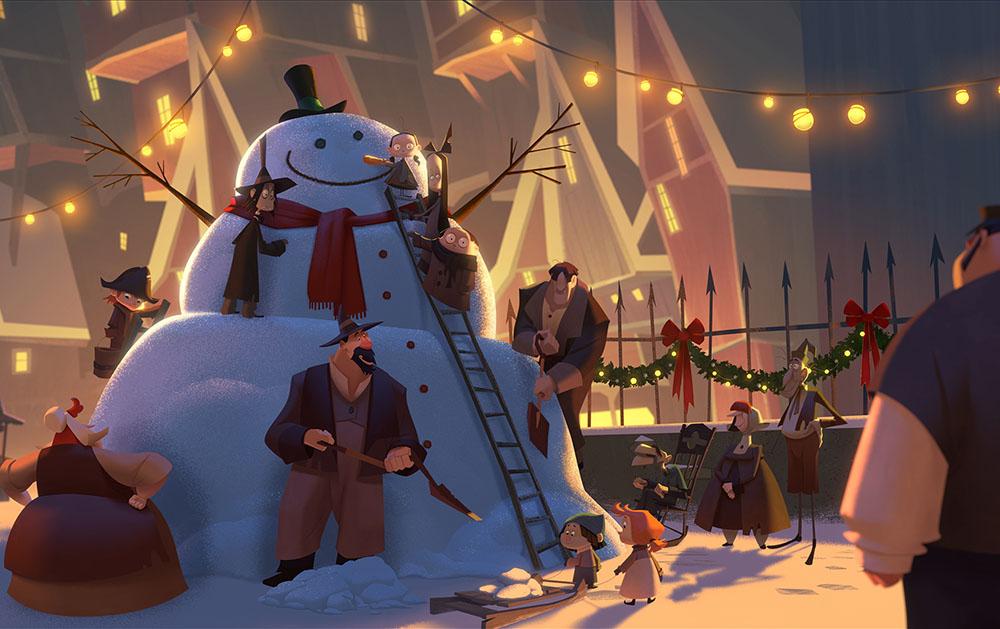 мультфильм про рождество