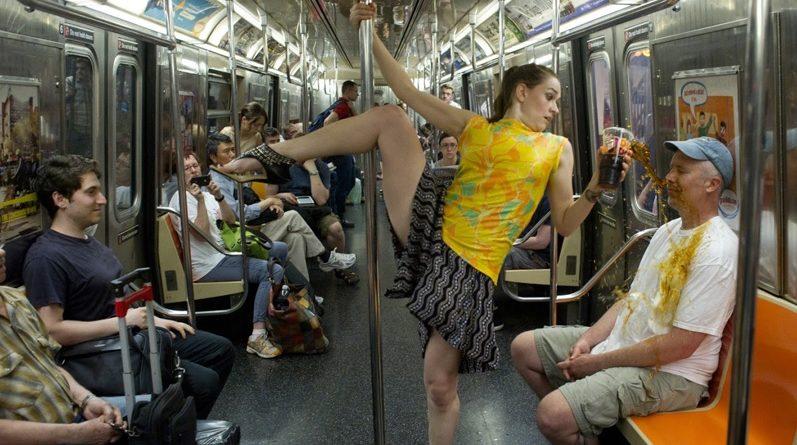 Смешные фотографии из общественного транспорта.