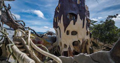 Необычные дома мира или «сумасшедший» комплекс в Далате.