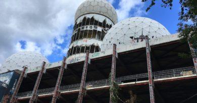 Заброшенная станция прослушивания АНБ в берлине