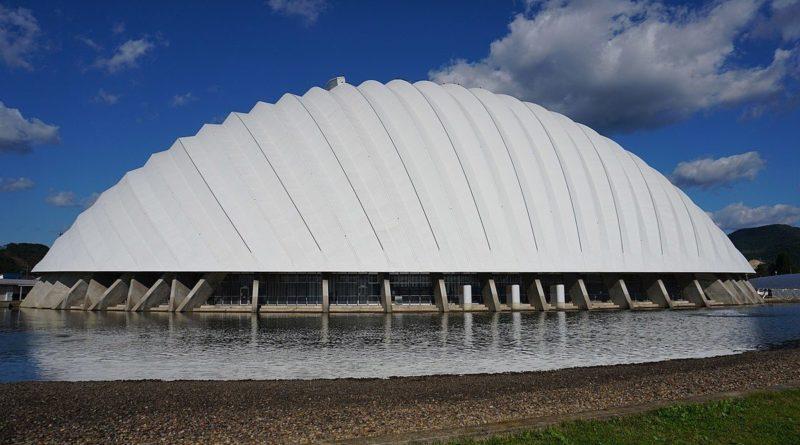 необычный стадион